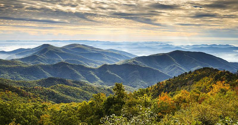 blue-ridge mountains